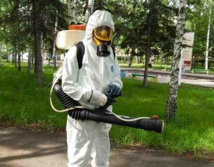 Дезинсекция комаров